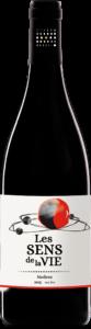 Vin rouge biodynamique et biologique Les sens de la Vie par le vignoble Les mets d'âmes. Vin rouge naturel.